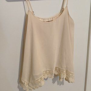 Crochet Hem Tank Top F21 (I think)